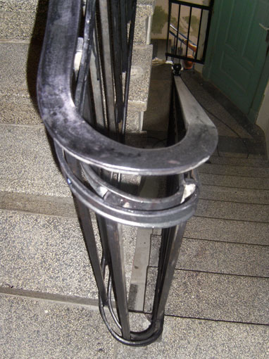 Treppe Geleander Stahlwerk