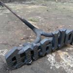 Brenneisen Stahl Kalt
