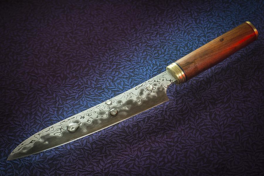 Suminagashi Damast Kuechenmesser