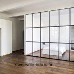 Stahl Glas Raumteiler Trennwand
