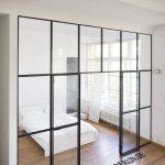 Stahl Glas Trennwand