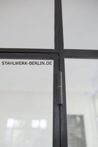 Stahl Glas Trennwand Scharnier
