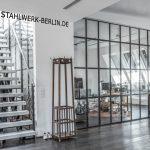 Raumteiler Stahl Glas Trennwand