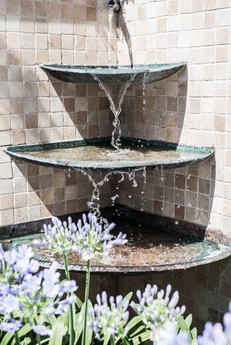 Brunnen aus Kupfer