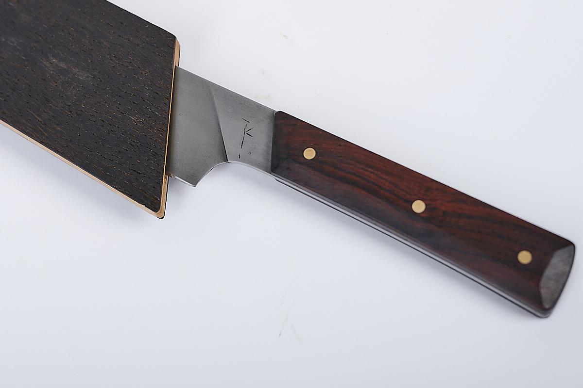 Holzscheide für Messer