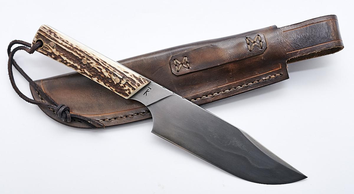 handgemachtes und gesschmiedetes Bowie Messer